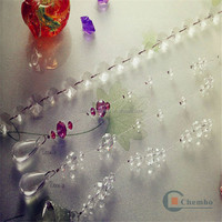 New best selling home decor elegant plastic bead curtain