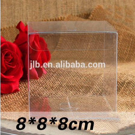 Transparent pvc clear plastic rose packaging flower box