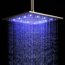 Ceiling Mount Temperature Control Shower Head LED Shower Head