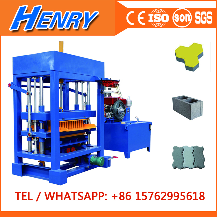 QT4-30 concrete paver block machine price block maker machine