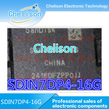 New Original SDIN7DP4-16G EMMC BGA Memory Chips SDIN7DP4 16G