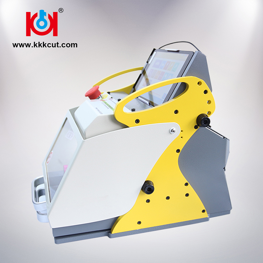 Portable itl key machine Sec-e9 key cutting machine goso locksmith tools/dimple lock bump gun machine