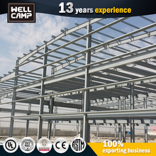 High Quality Quick Build China Portable Prefabricated Steel Structure Warehouse Shed