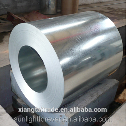 Prime galvanized steel slit coils regular spangle zinc coated