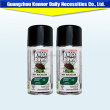 cosmetic aerosol insecticide spray killing all bugs