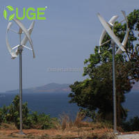 4kw Off Grid / Grid Tie Vertical Axis Turbine Wind Power Generator