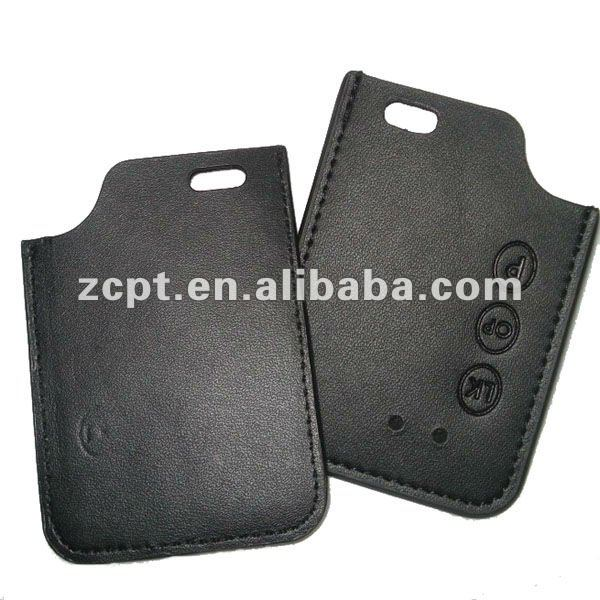 Black Car's Door Start Cover Leather Case Pouch