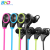 RQ8 Waterproof Bluetooth Wireless Earphone Stereo Music Portable In-ear Earphones Sports Headphone For Iphone Mobile Phone