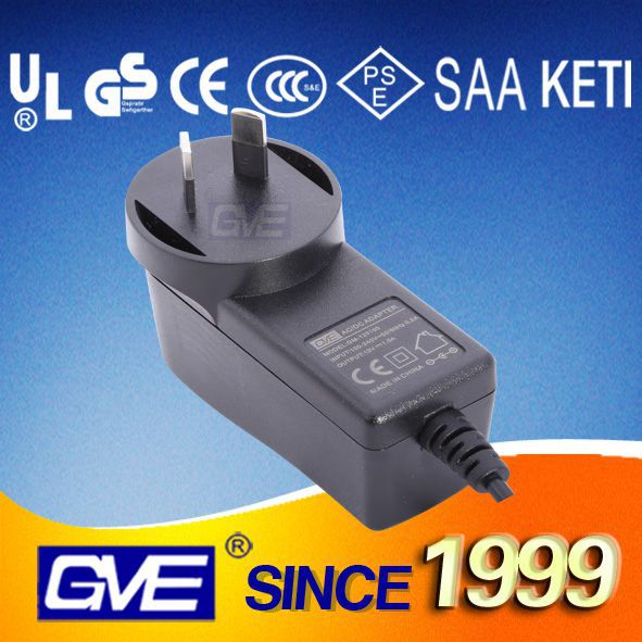 AU Plug Universal 5V 1.5A Wall Charger With SAA Certification