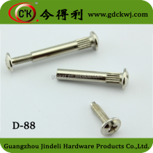 Furniture Hardware High Quality Metal Fastener Screw Fittings