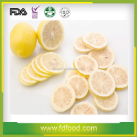 Fruit Product Type Freeze Dried Lemon Slice For Sale