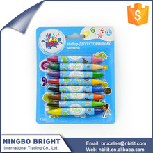 Wholesale good quality Customized double ended crayons