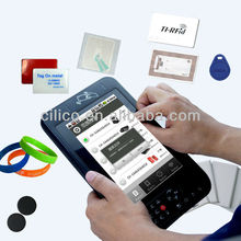 Android Tablet PC with RFID Card Reader and ID card Reader