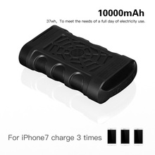 10000mAh High Capacity Waterproof IP68 power bank with quick charge QC 3.0 Type-c port