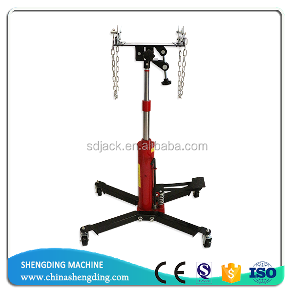 0.5 ton single pump high lifting transmission jack