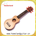 17inch Ukulele Korean Pine Cedar Solid mini Travel Guitar Sealed Machine Head Ukulele Finished