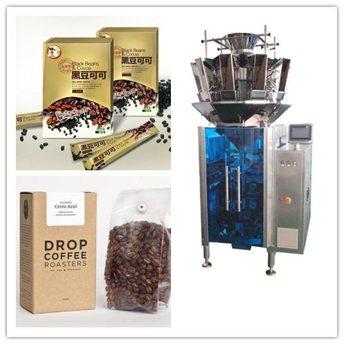 Black bean & cocoa weighing and packing machine