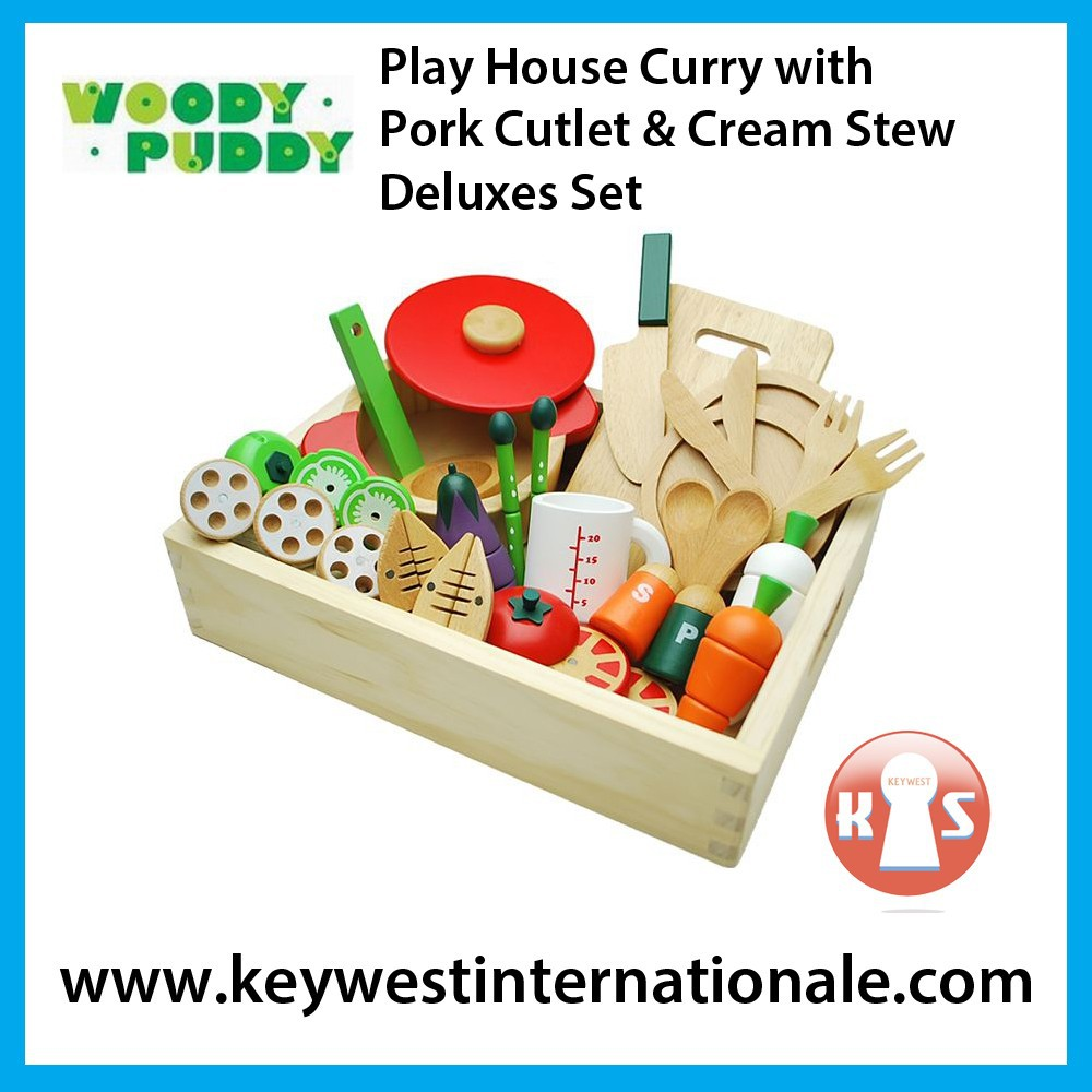 Play House Curry with Pork Cutlet & Cream Stew Deluxe Set
