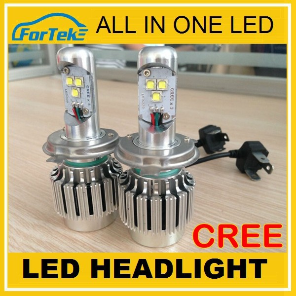 new products ALL IN ONE CREE h4 12v 55w <strong>led</strong>