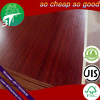 melamine Melamine MDF/mdf 3mm as wood door skin or decoration wall panel/for indoor decortion/
