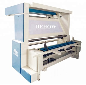 REHOW Automatic edge multi-function fabric inspecting measuring &winding machine
