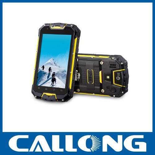 Outdoor mobile phone SNOPOW M8 MTK6589 quad core IP68 waterproof 4.5 inch walkie talkie android 4.2.2 rugged smartphone