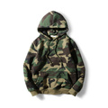 Wholesale OEM blank army green Camo hooded sweatshirt/sport hoodies
