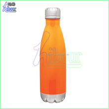 2016 online shopping double wall stainless steel private label for coke bottle vacuum cola bottle with ss lid