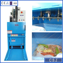 new style CE,ISO9001 certificated Vertical Waste compressing and bagging machine