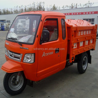 three wheel garbage collection vehicle