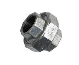 Union Flat Seat Malleable Pipe Fittings, Galvanized And Black
