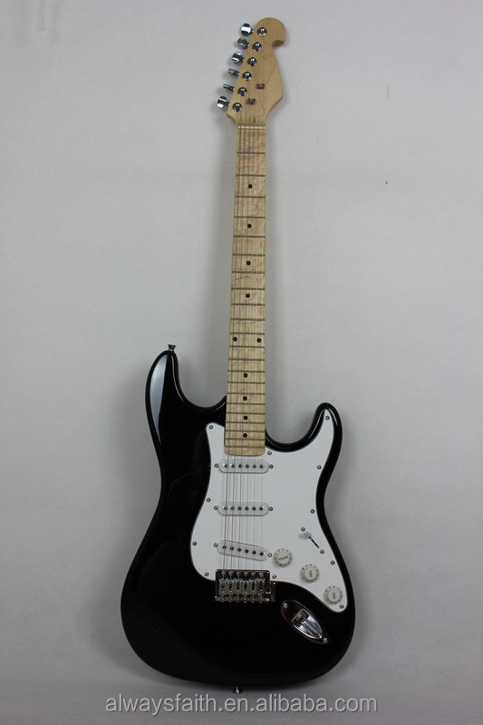 High Quality but Cheap Price st electric copy guitar GS201-CSB