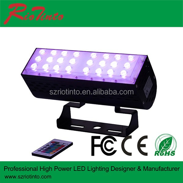 Fashionable energy conservation garden park wall washer 30 Watts 50W rgb led dmx flood light