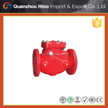 Superior silent water meter check valve for fire fighting