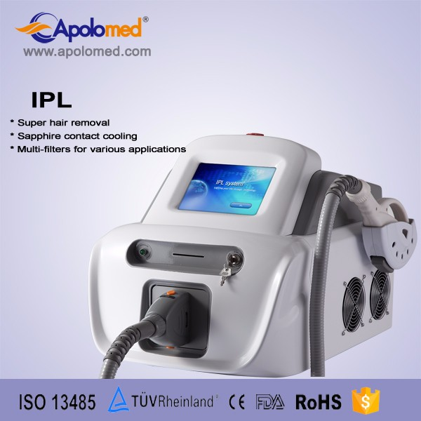 Portable design keyword 2014 best shr ipl machine price for vascular removal