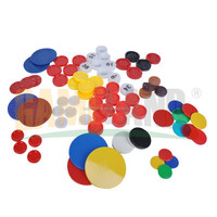 Custom Plastic Game Tokens Coins With Embossed Or Printed Numbers