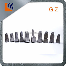 Two-wheel static Road Roller PC300 forging excavator bucket teeth for earth moving work