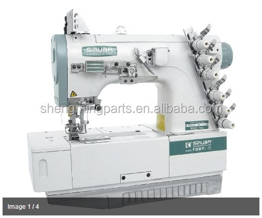 used original siruba flat seawing industrial interlock sewing machine