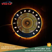 High Quality Auto Door Speaker Cover With Light For Mercedes Benz E Class W213