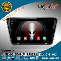 10.1'' quad core Android 4.4.2 car auto radio 1 Din for Skoda Superb car radio