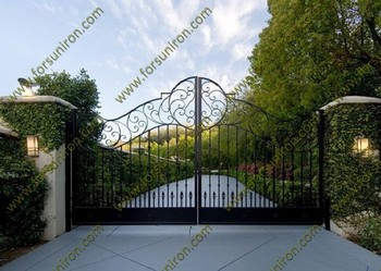 hot dip galvanized main iron gate