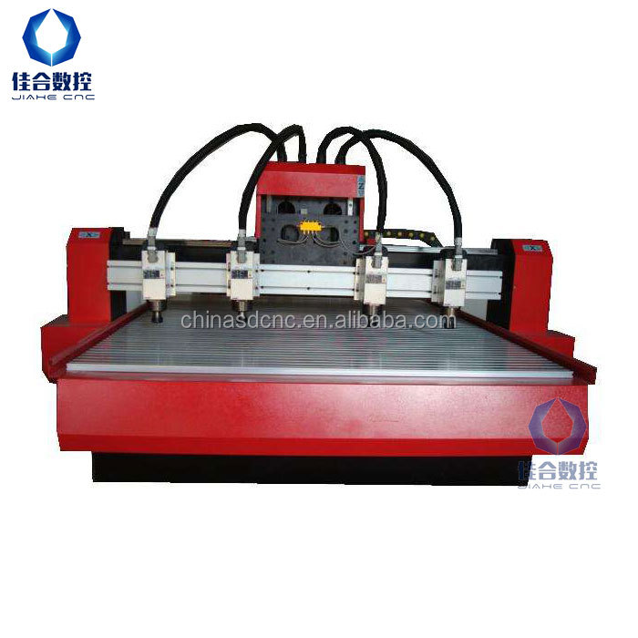 Golden price 1325 multi heads wood cnc router 3d cnc wood milling machine