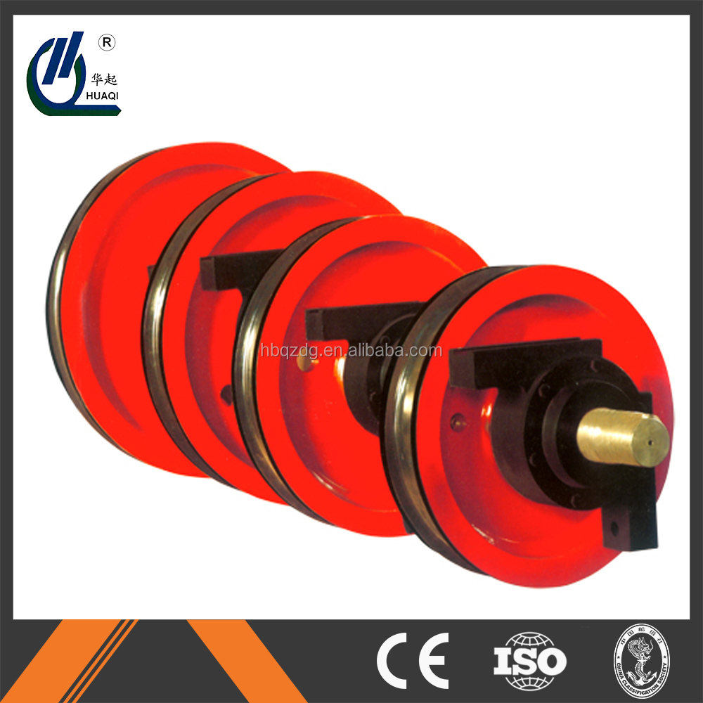 hot sale rail way , rough crane wheels