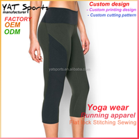 Wholesale fitness apparel manufacturer sexy womens legging yoga tights