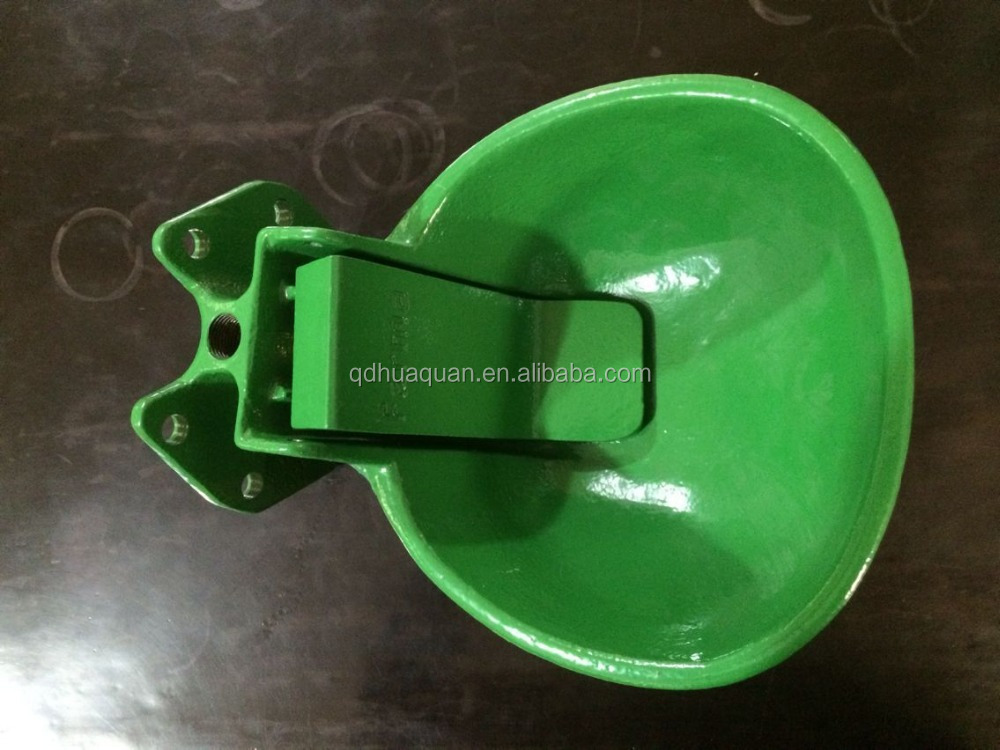 automatic iron cattle water bowl