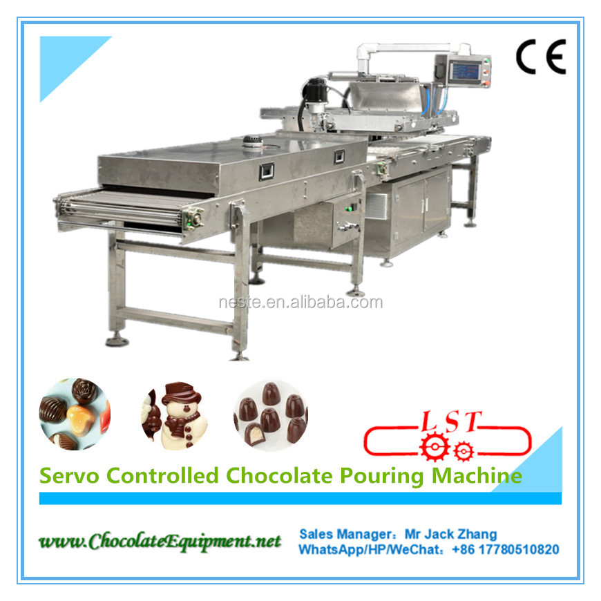 One shot Full Automatic Servo-controlled Chocolate Pouring & Molding Machine Chocolate production line