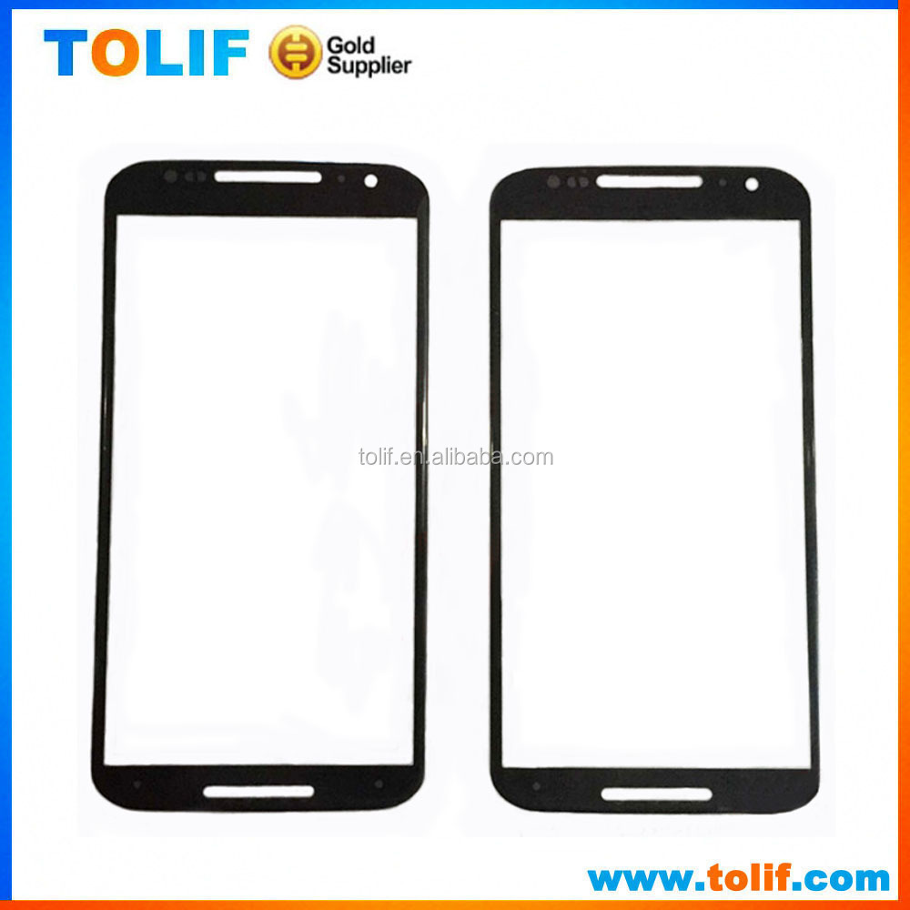 For Motorola Moto X+1 Front Glass Cover Replacement, For Motorola Moto X+1 Glass Panels