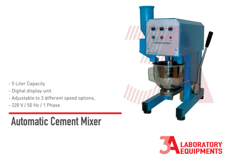 Automatic Cement Mixer
