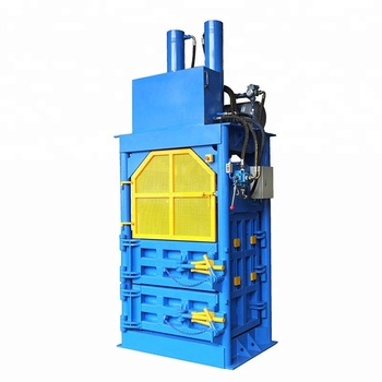 Factory Direct Sale plastic waste paper baling machine with high performance