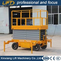 Cheap price 6meters small equipment scissor lift for aerial work